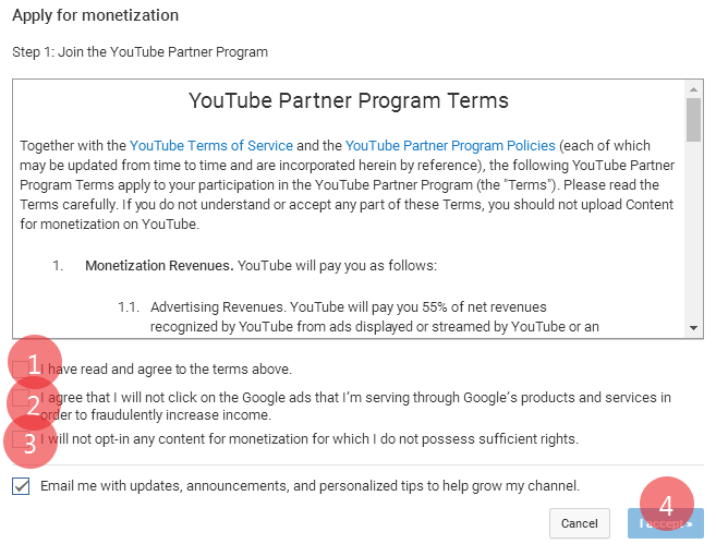 how to youtube monetization enable