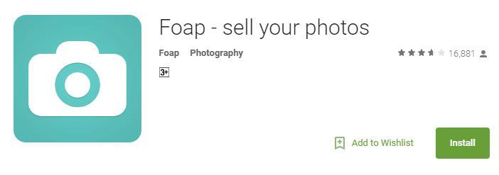 earn money from foap app