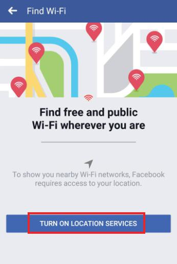 how to access find wifi